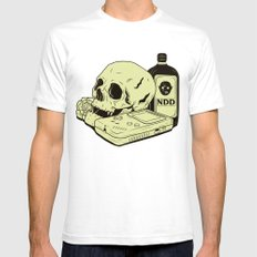OFRENDA Mens Fitted Tee White SMALL
