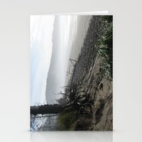 Misty Morning Walk Stationery Cards