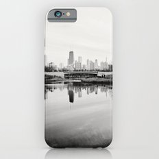 Chicago Skyline from South Pond iPhone 6 Slim Case