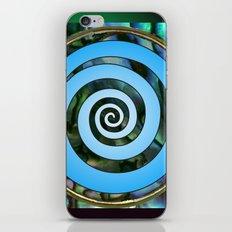 Paua Koru 2 iPhone & iPod Skin