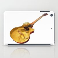 The guitar is a lady iPad Case