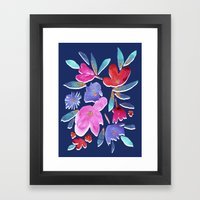 LeiLani Flower Bright On… Framed Art Print