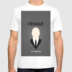 F - Minimalist Poster 03 White SMALL Mens Fitted Tee