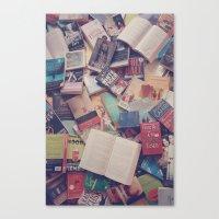 Book Mania! (2) Canvas Print
