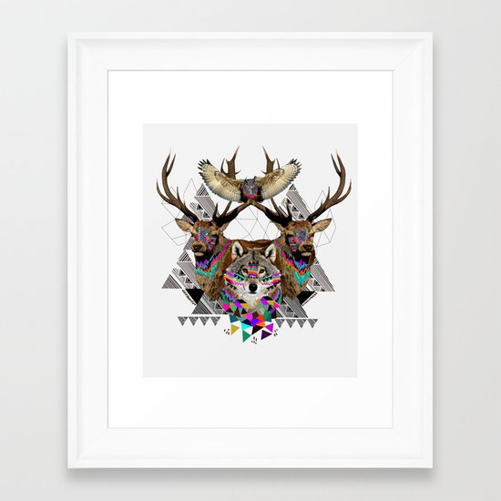 ▲FOREST FRIENDS▲ Framed Art Print