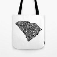 Typographic South Caroli… Tote Bag