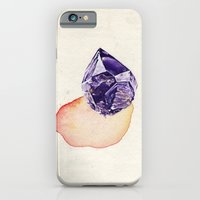 iPhone & iPod Case featuring Amethyst Splash by Erin Hinz