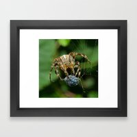 Wrapping Framed Art Print