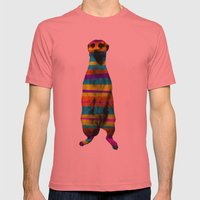 Hakuna Piñata Mens Fitted Tee Pomegranate SMALL