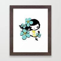Some days are different Framed Art Print