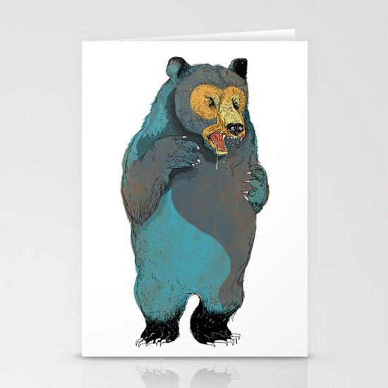 Mr.Grizzly Stationery Card