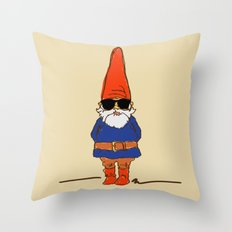 JerGnome Throw Pillow