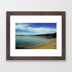Blackman's Bay Framed Art Print