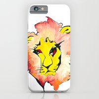 iPhone & iPod Case featuring LION by yukumi