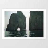 Capri 5 Art Print