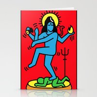 Shiva Keith Haring Tribu… Stationery Cards