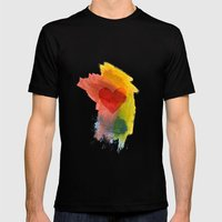 Scatterheart Mens Fitted Tee Black SMALL