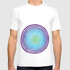 Degrees White SMALL Mens Fitted Tee