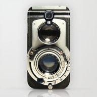 Vintage Camera Galaxy S4 Slim Case