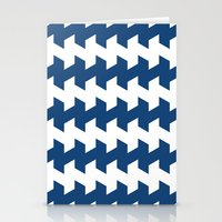 Jaggered And Staggered I… Stationery Cards