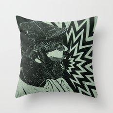 Untitled self portrait Throw Pillow