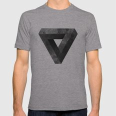 Lunar Mens Fitted Tee Athletic Grey SMALL