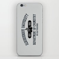Respect The Chemistry iPhone & iPod Skin