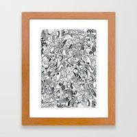 My (i) Land Framed Art Print