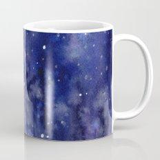 Night Sky Galaxy Stars   Watercolor Space Texture Mug