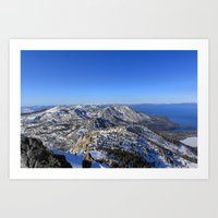 Maggies Peak Art Print