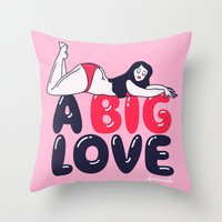 A Big Love Throw Pillow