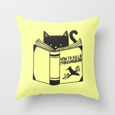 How To Kill a Mockingbird (Yellow) Throw Pillow