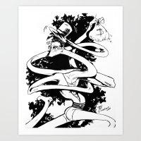 Plasticman! Art Print