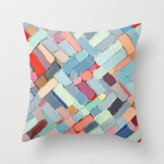 Summer In The City Throw Pillow