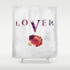 LOVER Shower Curtain