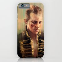 iPhone & iPod Case featuring Red Bandit by nlmda