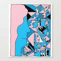 Study no. 3 Canvas Print