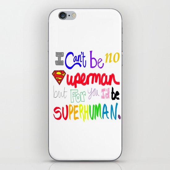 superhuman iPhone & iPod Skin