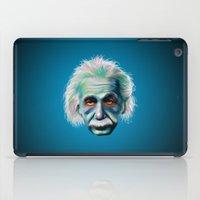 Colorful Einstein iPad Case