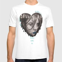 Eyes On You    BY.Davy W… Mens Fitted Tee White SMALL