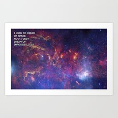 Dreaming of Impossible Art Print