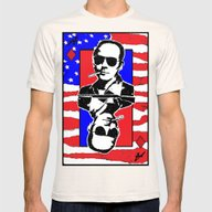 Hunter.S.Thompson. The A… Mens Fitted Tee Natural SMALL