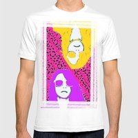 Frame The FAME - Shirane Mens Fitted Tee White SMALL