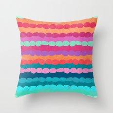Brite Stripe Throw Pillow