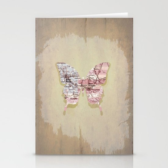 New Orleans butterfly Stationery Card