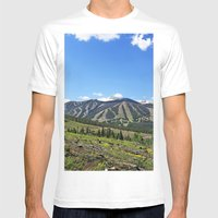 Winter Park Mens Fitted Tee White SMALL