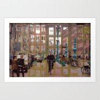 Amsterdam 25 Art Print
