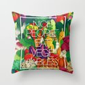 Nice People Eat Vegetables (Feat. Lidija Paradinovic) Throw Pillow