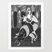 Black #1 Art Print
