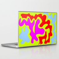 Laptop & iPad Skin featuring Colours Colors Q by Vitta